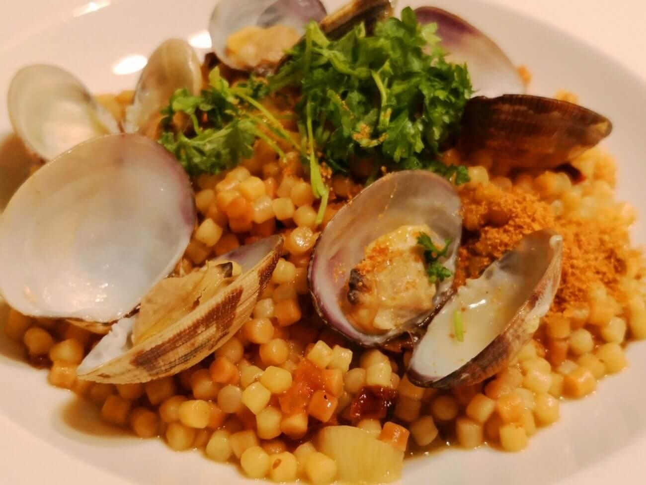 Fregola Sarda – Sardische Pasta mit Muscheln