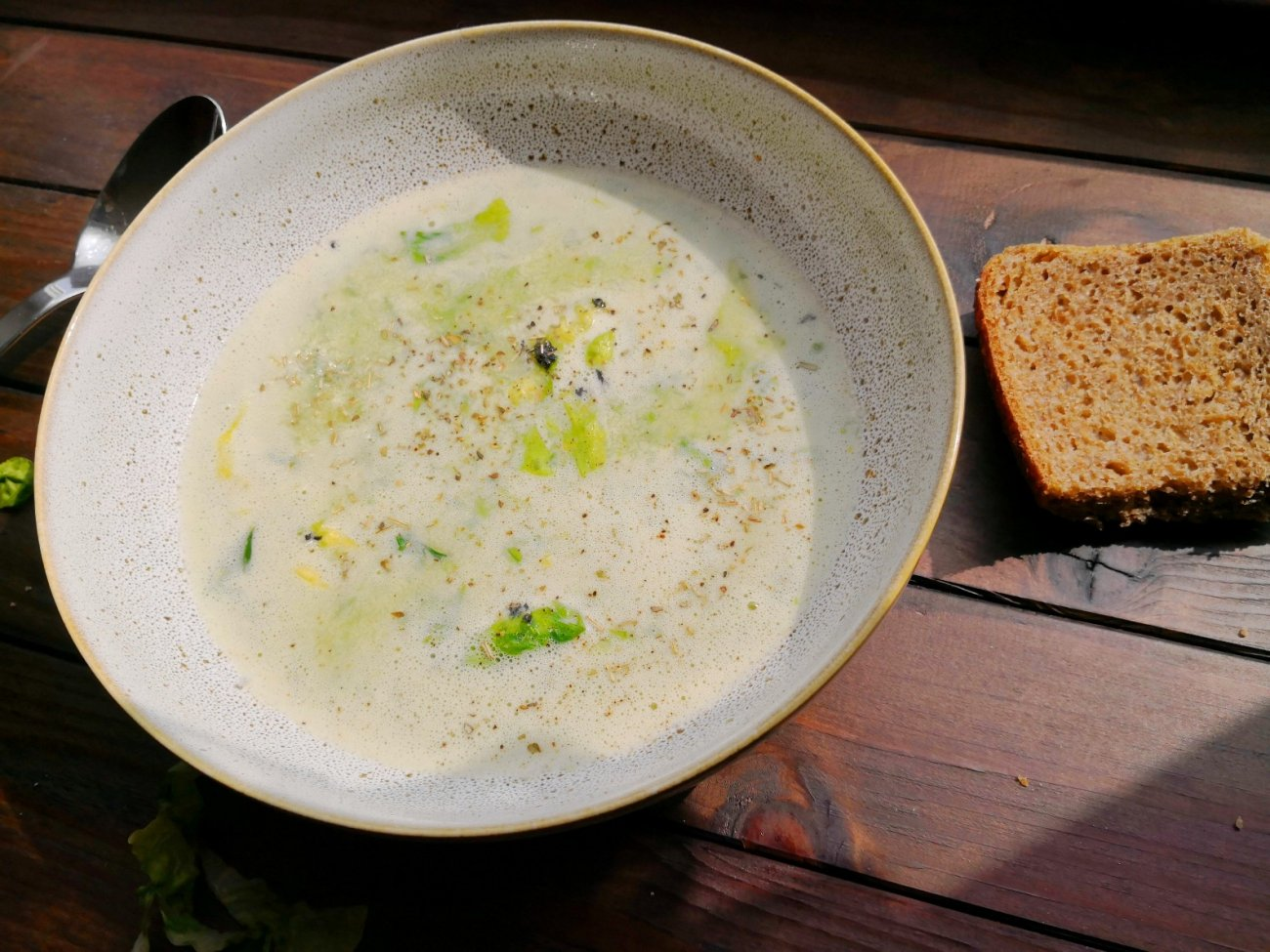 Französische Salatsuppe