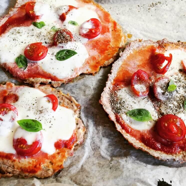Pizzaboden Thunfisch Low Carb